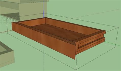 build wood drawer   woodworking
