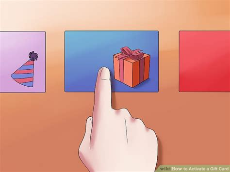 Activating Gift Cards - how to activate a gift card 10 steps with pictures wikihow
