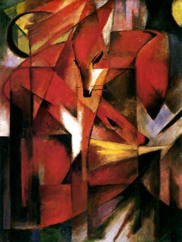 libro kubismus indeprofundis franz marc