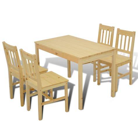 table avec 4 chaises la boutique en ligne table 224 manger avec 4 chaises en bois