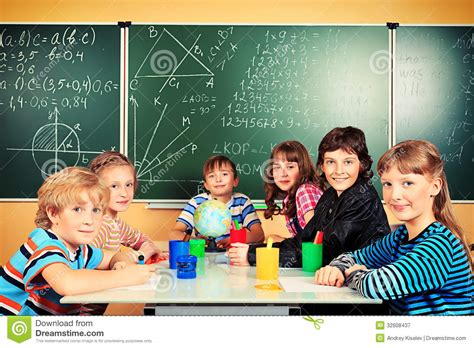 Royalty Free School Children Stock by Of Children Stock Image Image Of Class