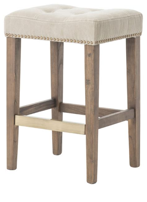 bar stools traditional sean counter stool desert canvas traditional bar