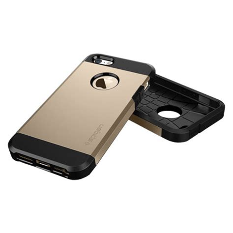 spigen sgp tough armor iphone 5s 5 chagne gold mobilezap australia