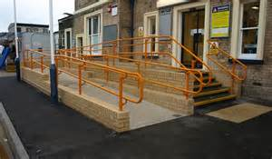 part m handrail dda compliant access handrail kee safety uk