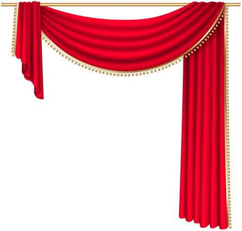 art curtains red curtain transparent png clip art image mukesh