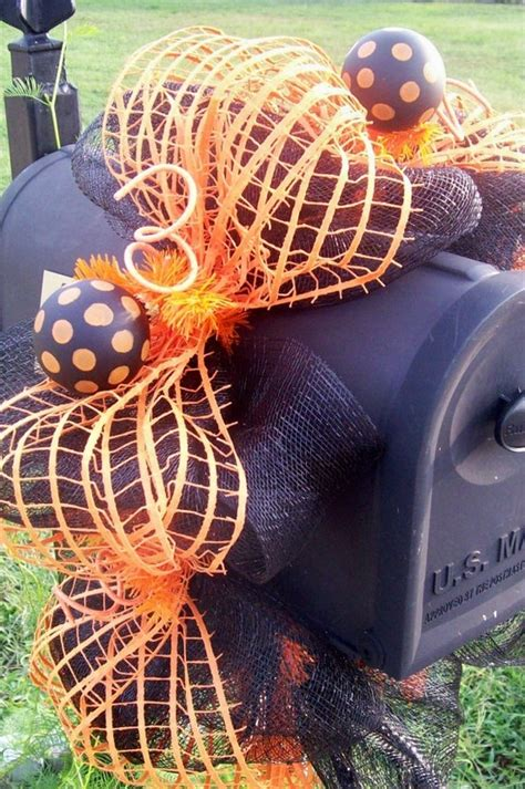 mailbox decorations for fall mailbox decoration