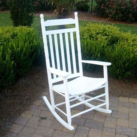 White Rocking Chair Outdoor by Outdoor White Rocking Chairs Wood Rocking Chair For