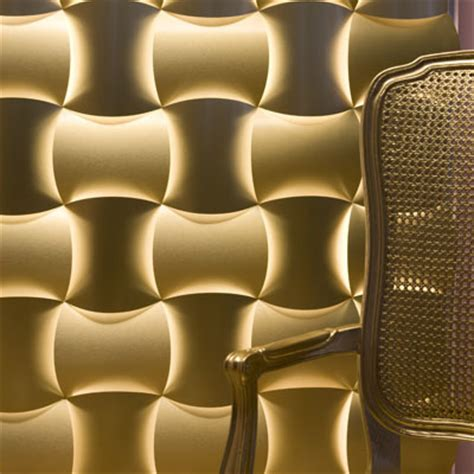 3 form gold aluminum laminate wall covering 1 3 form gold