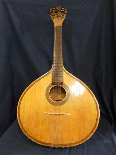 Handmade Guitar Strings - antique handmade portuguese 12 guitar strings early 20
