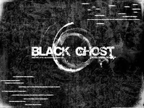 black ghost black ghost abstract wallpaper image mod db