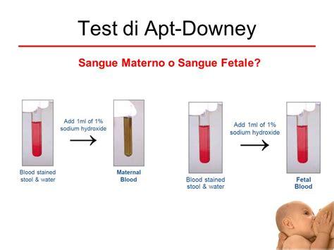 test sangue il sangue nelle feci diagnosi e terapia ppt