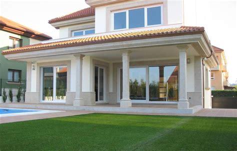 casas chalets arquitectos casa chalet oleiros proyecto