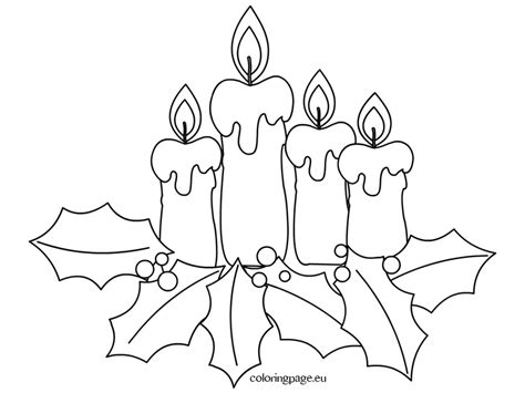 clip art coloring pages for advent coloring pages