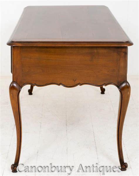 wood and writing desk french cherry wood bureau desk writing 1890
