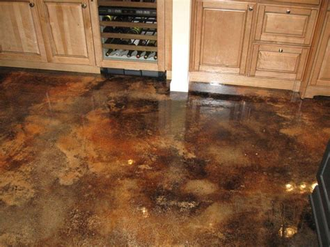 Concrete Stained Floors by Acid Stain The St Store Concrete Products