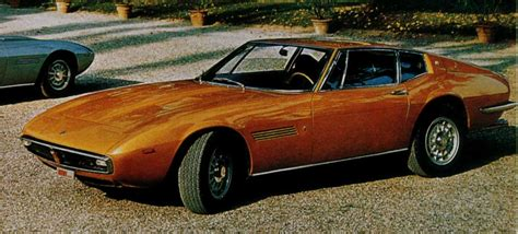 Maserati Ghibli 1967 by 1967 Maserati Ghibli Information And Photos Momentcar