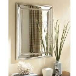 silver bathroom mirror ancanthus leaf rectangle wall mirror beveled silver foyer