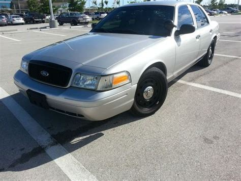 buy   ford crown victoria police interceptor sedan  door   cape coral florida