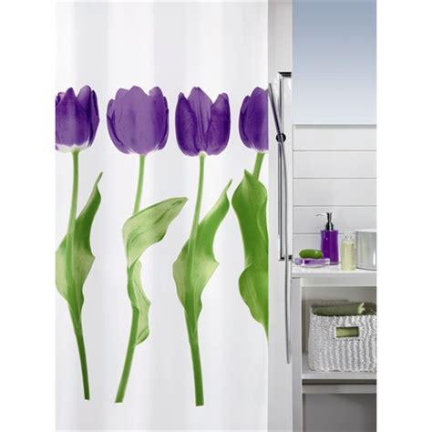 tulip shower curtain tulip luxury shower curtain purple notjusttaps co uk
