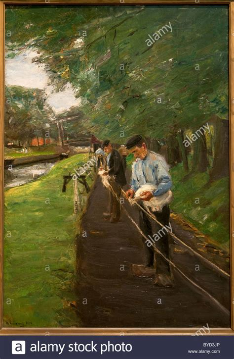 scheune reeperbahn painting by max liebermann stockfotos painting by max