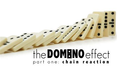chain reaction we try the new domino s handmade pan pizza the domino effect part 1 chain reaction on vimeo