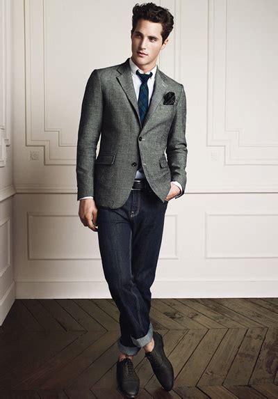 Blazer Lelaki the monsieur s guide to men s smart casual courtesy of mango he ss2012 the monsieur
