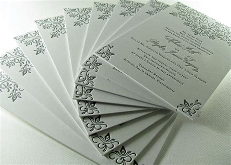 Thick Paper Wedding Invitations by Country Lace Wedding Invitations Digby