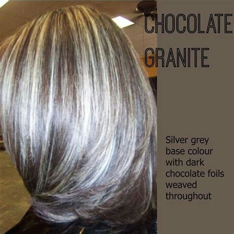 hiding grey hair with highlights best highlights to cover gray hair wow com image