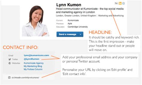 Linkedin Title For Mba Seeker by 6 Steps To Building A Killer Linkedin Profile Infographic