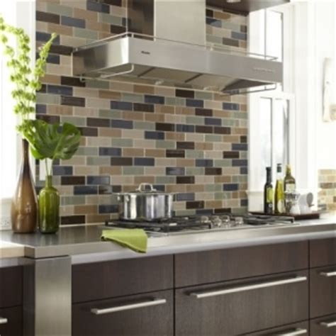 multi colored subway tile backsplash 56 best images about kitchen backsplash ideas on