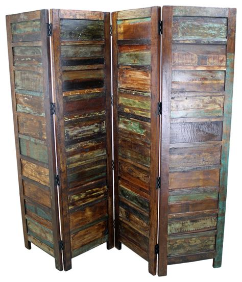 rustic room dividers rustic room divider distressed rustic beige mango wood