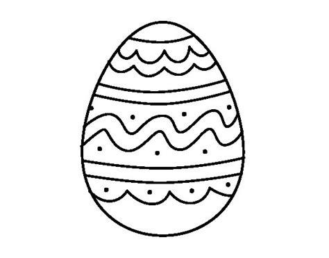 imagenes para pintar huevos de pascua dibujo de huevo del d 237 a de pascua para colorear dibujos net