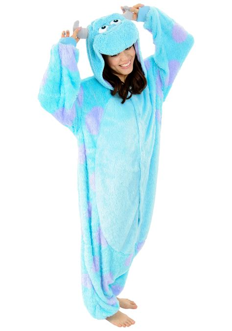 halloween onesies for girls sulley pajama costume