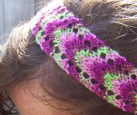 knit lace headband pattern knitting patterns galore smidge headband