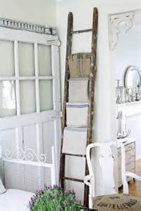 Ladder Home Decor Dishfunctional Designs Ladders Repurposed As Home Decor