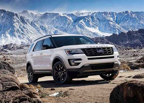 2018 ford explorer spec 2018 ford explorer price and release date 2018 car reviews