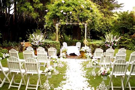 garden wedding ceremony and reception sydney the gables garden wedding venues city secrets
