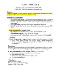 resume original no experience resume format