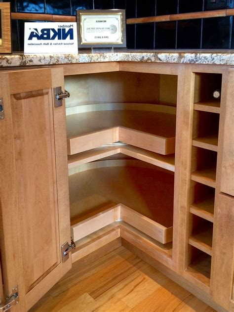 corner kitchen cabinet ideas kitchen corner cabinet solutions