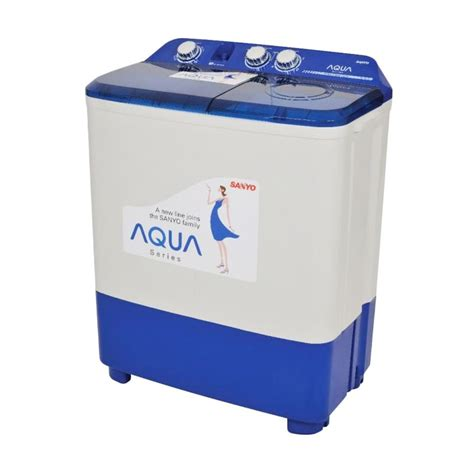 Mesin Cuci Sanyo Sw 730xt jual sanyo aqua series sw 870 xt mesin cuci 8 kg harga kualitas terjamin blibli