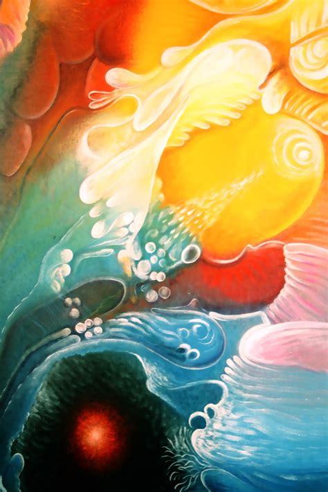 imagenes arte abstracto organico circulo pictorico alternativo cipa