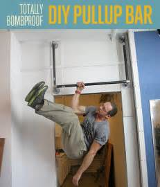 How to make a bombproof pullup bar diy fitness diy ready