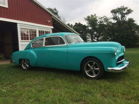 cadillac pontiac 1949 pontiac fastback restomod sedanette buick