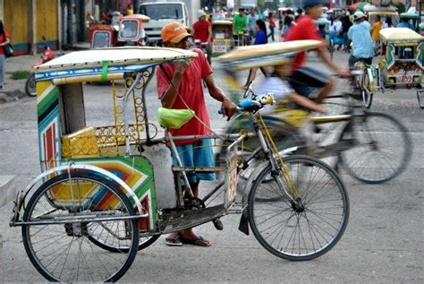philippines pedicab pedicabs to transport guests of pacific mayors