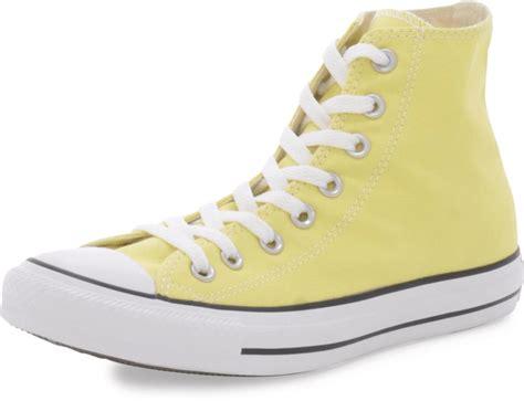 light yellow converse shoes osta converse chuck taylor all star hi light yellow