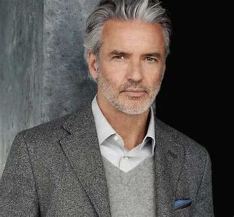 hairstyles for men over 50 with gray hair cool older men hairstyles mens hairstyles 2018