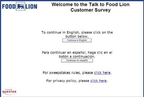 Www Talktofoodlion Com Sweepstakes - www talktofoodlion com tell food lion and win 2000 cash credit reports
