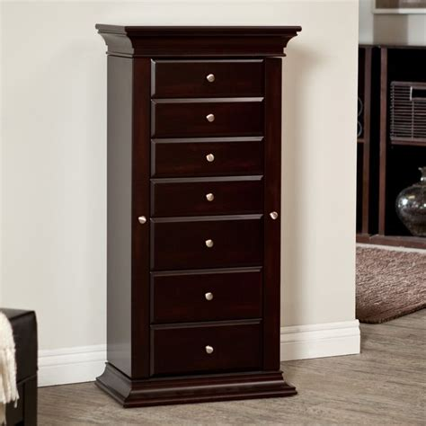 belham jewelry armoire have to have it belham living harper espresso jewelry