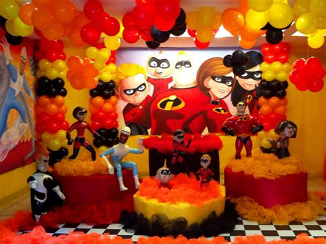 The Incredibles Decorations the incredibles ideas birthday ideas