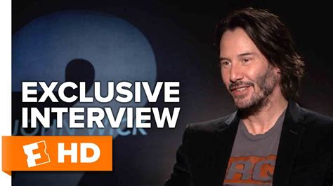 Watch John Wick Chapter 2 keanu reeves and laurence fishburne exclusive john wick